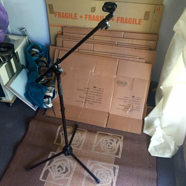 Adjustable Mic Stand