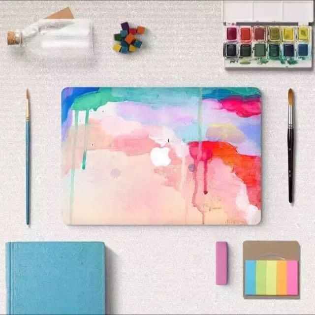 🎉Apple Mac book pro 保護貼膜 外殼貼紙
