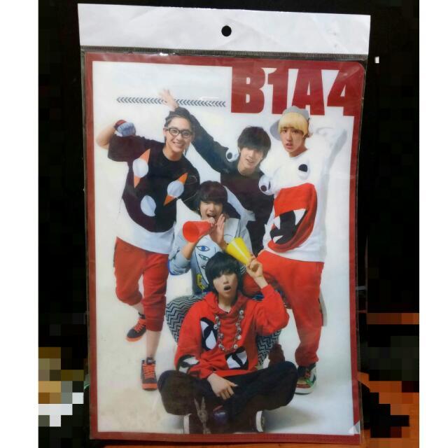 B1A4資料夾+贈小卡