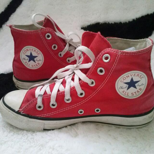 Converse CT High Red Original