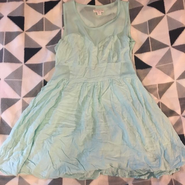 Cotton On Baby Blue Dress. Size S