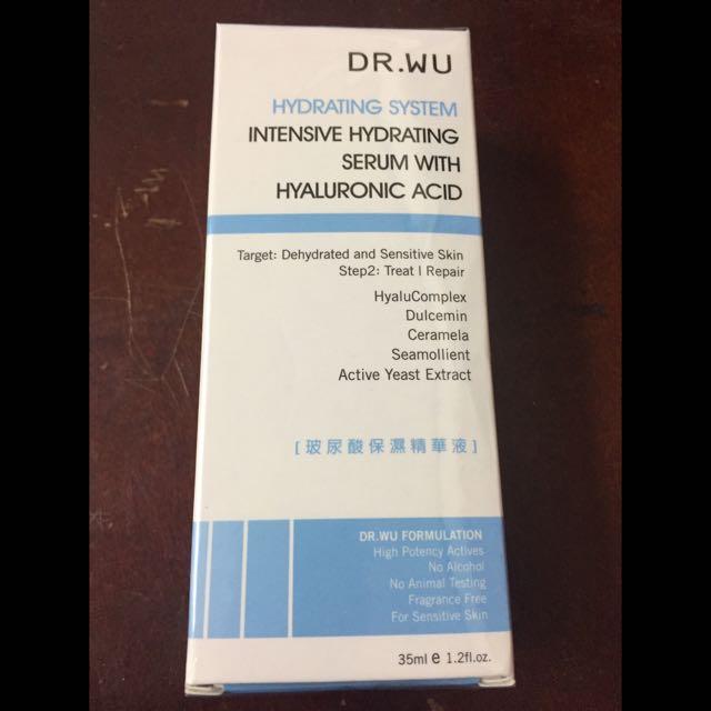 Dr.wu玻尿酸保濕精華液35ml