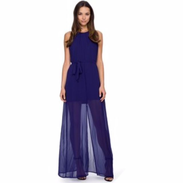 Elegant Pilgrim Lalita Maxi dress, midnight hue - Size 10!