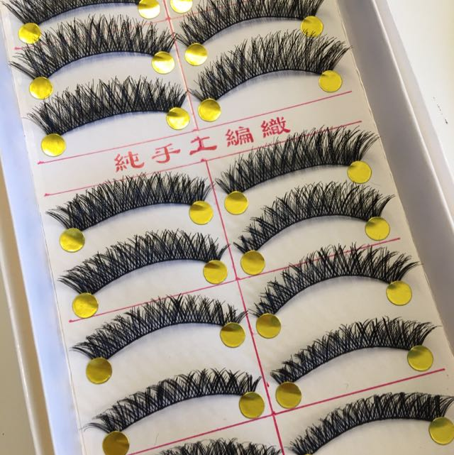 Full n Thick Wispies Handmade False Eyelashes/falsies #521
