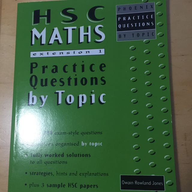HSC Mathematics Practices