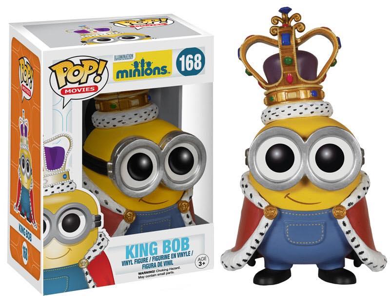 King Bob minions figure funko pop