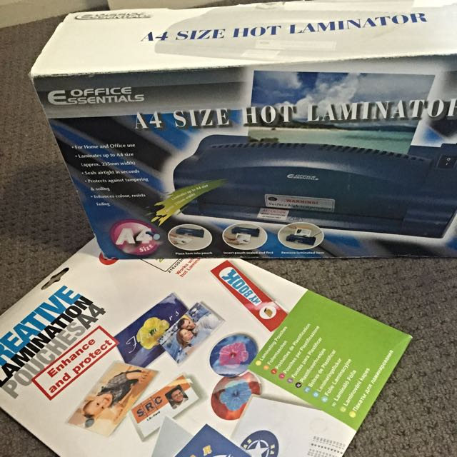 Laminator Machine+laminator Pack