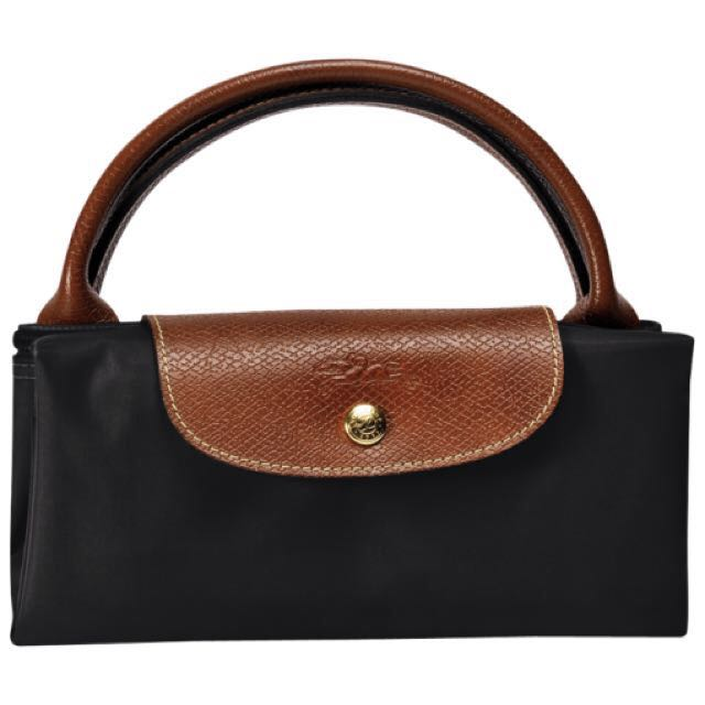 852d4e5f8f17 longchamp LE PLIAGE Large travel bag (Black), Luxury on Carousell