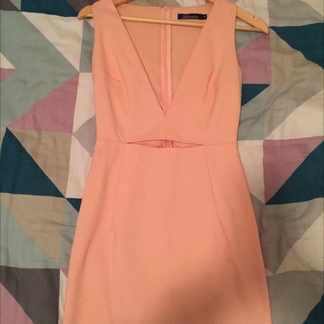 Luvalot Peach Dress