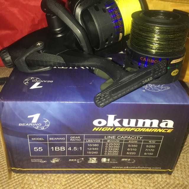 Okuma Carbonite CBF155