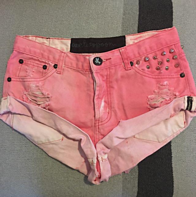Oneteaspoon Bandits Shorts | Size 24