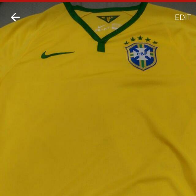 Original Brazil World Cup 2014 Jersey Size S