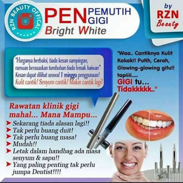 Pen Pemutih Gigi by RZN b5c1b61cd1