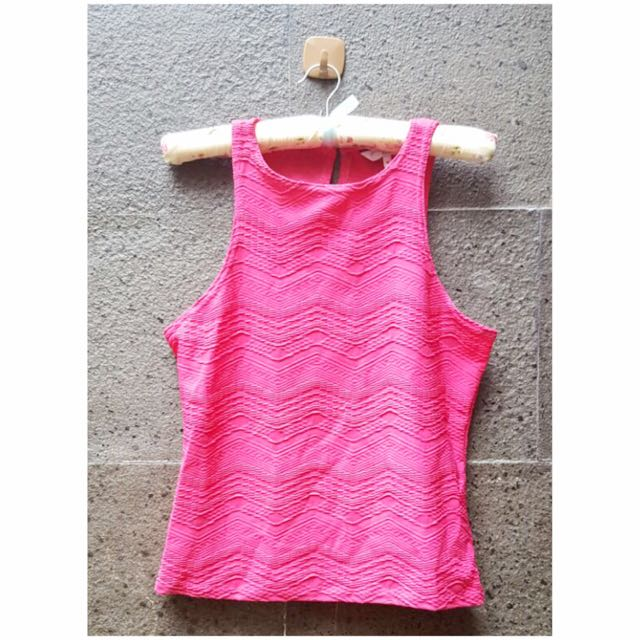 Preloved New Look Fuschia Top
