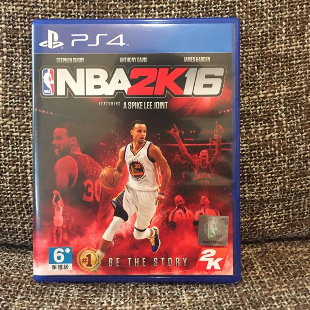 Ps二手遊戲《NBA2k16》