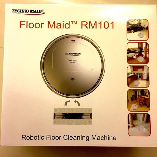 全新美國Techo Maid 拖地機器人