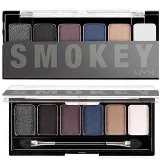 new NYX smokey shadow palette
