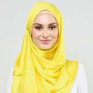 Raya Weave Duckscarves In Yellow