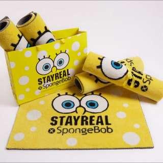 Stayreal 海綿寶寶 地毯 全新