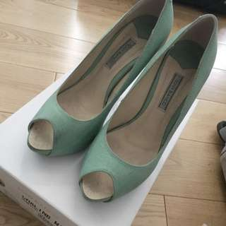 Tony Branco Mint Heels