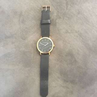"""Black And Rose Gold """"The Horse"""" Ladies Watch"""