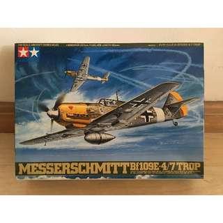 61063Tamiya1/48Messerschmitt Bf109-E4/7 Trop