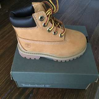 Timberland Boots - Toddler Size 7
