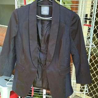 Marcs Blazer Black Size 10 3/4 Sleeve