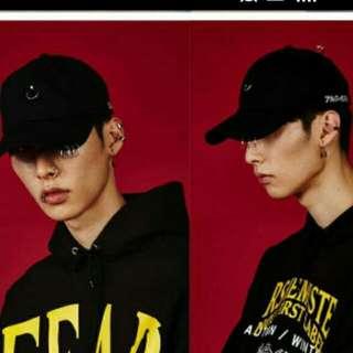 韓星同款圓環帽