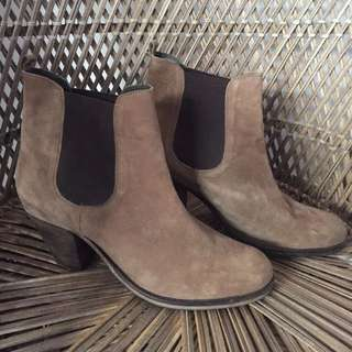 Sportsgirl Suede Ankle Boots