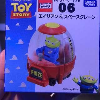 TOMICA 玩具總動員 toy story 合金多美 小汽車