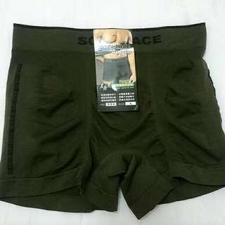 男性-超彈性服貼平口褲