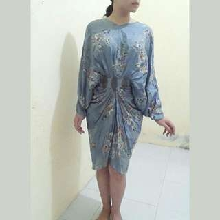 LEYLA Drappery Dress (Abaya)