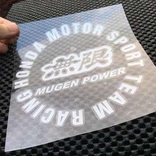 汽車/機車/貼紙無限MUGEN POWER