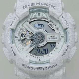 G-SHOCK GA-110HT-7A 針織紋