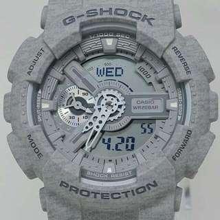 G-SHOCK GA-110HT-8A 針織紋