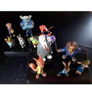 Zootopia action figurine toys