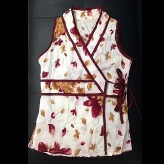 Kimono Inspired Wrap Top Size 6-8