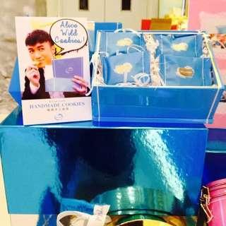 香港代購🇭🇰Alice Wild luscious古巨基開的曲奇店One Of A Kind Favors 6款口味 24塊裝曲奇禮盒