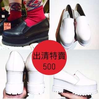 日本帶回 厚底鞋 厚底跟鞋(原訂價2480清倉特價500)