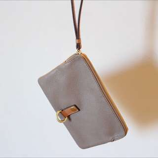 Leather Clutch/pouch Small Bag