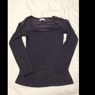 Zara Long Sleeves T Shirt