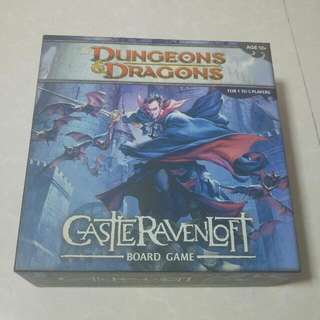 BN Comolete Dungeons and Dragons: Castle Ravenloft Board Game