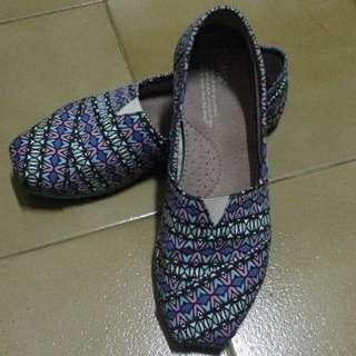 Toms 平底鞋 休閒鞋 花色 圖騰
