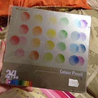 色鉛筆 24色