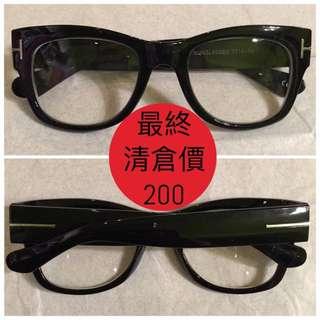 日本帶回 黑框眼鏡