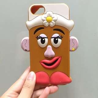 迪士尼皮克斯 蛋頭太太手機殼 軟殼 iPhone 5/5s