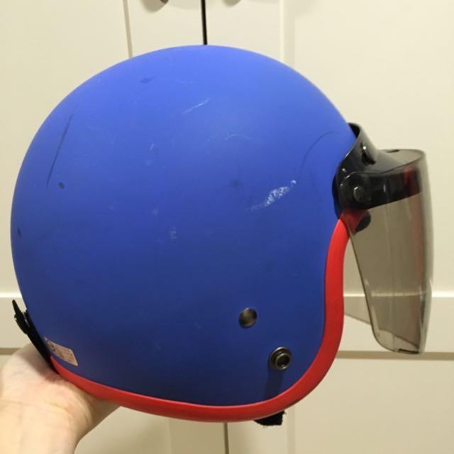 3/4罩 安全帽