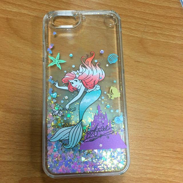 (含運)迪士尼小美人魚流沙蘋果6/6s手機殼