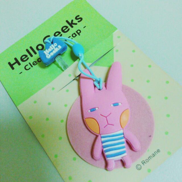 小兔耳機塞加防塵布